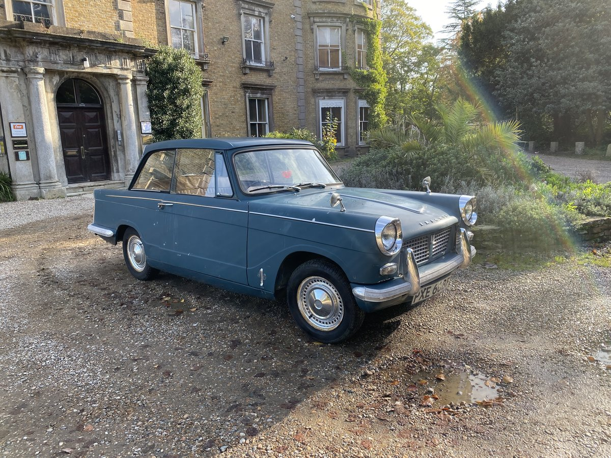 1965 TRIUMPH HERALD 3 OWN 30K MILES (REDUCED) For Sale (picture 1 of 6)