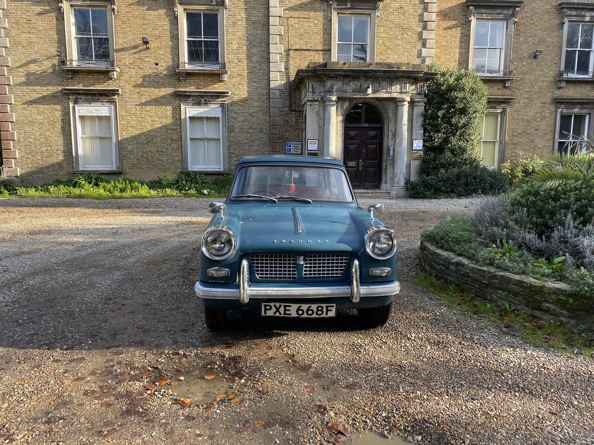 1965 TRIUMPH HERALD 3 OWN 30K MILES (REDUCED) For Sale (picture 2 of 6)