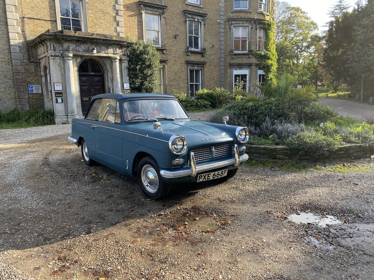 1965 TRIUMPH HERALD 3 OWN 30K MILES (REDUCED) For Sale (picture 3 of 6)