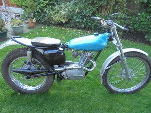 1962 Triumph tiger cub 200cc trial bike pre 65