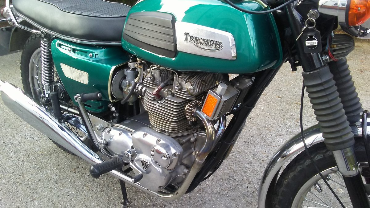 Triumph T150 Trident 1968 For Sale (picture 5 of 6)