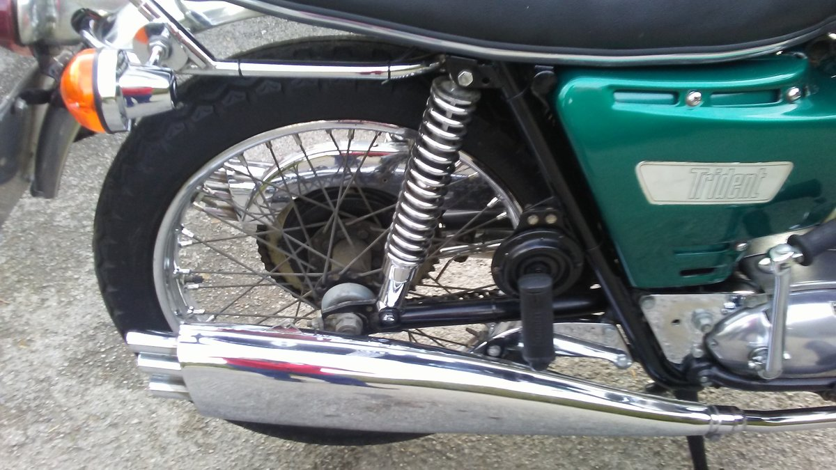 Triumph T150 Trident 1968 For Sale (picture 6 of 6)