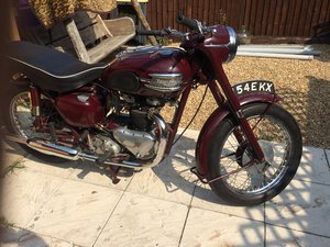 1958 triumph speedtwin 5T matching numbers For Sale