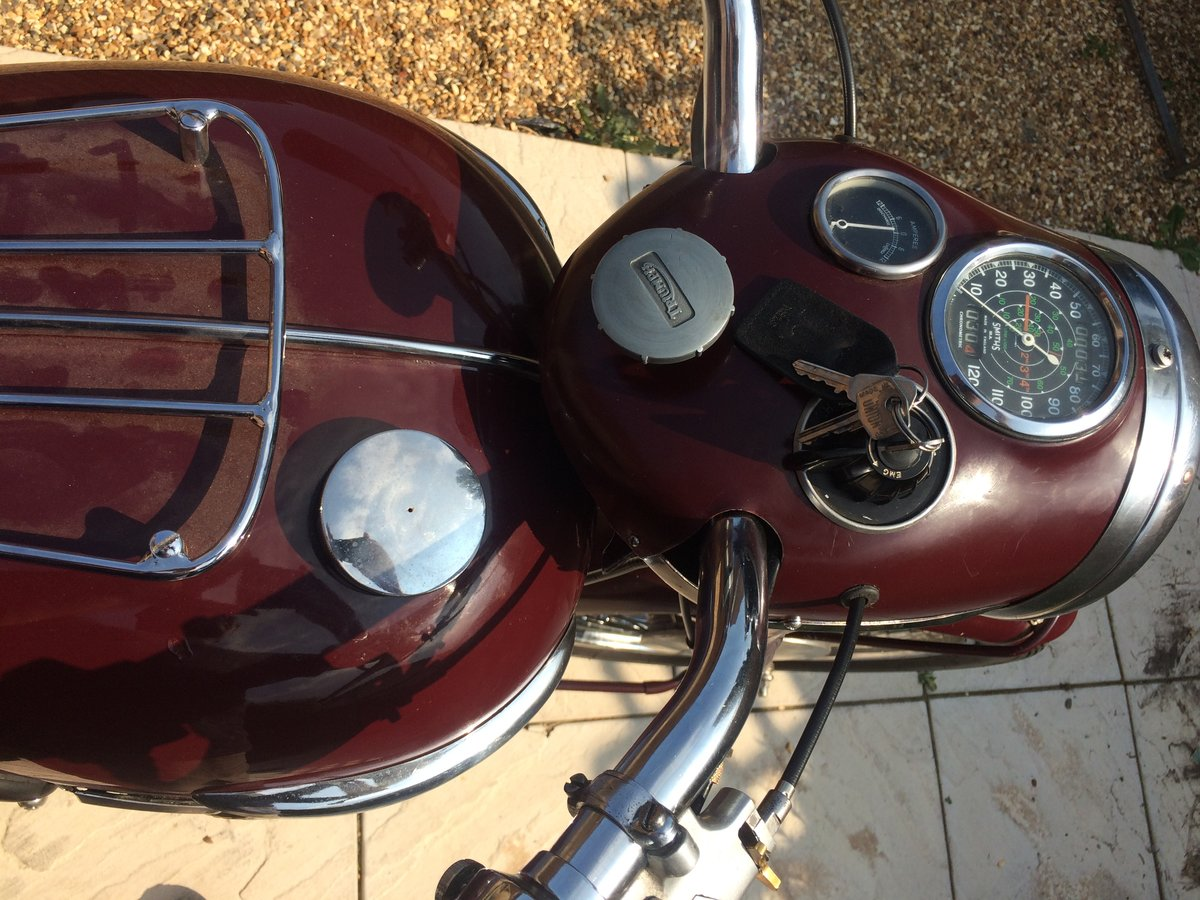 1958 triumph speedtwin 5T matching numbers For Sale (picture 5 of 6)