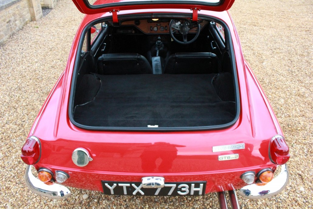 1970 TRIUMPH GT6 MK2 (BEST AVAILABLE)  For Sale (picture 13 of 20)
