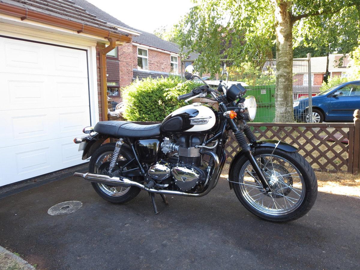 2009 Triumph bonneville t100 865cc For Sale (picture 1 of 5)