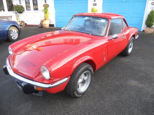 1978 Triumph Spitfire Mk III 1500-Lovely Condition