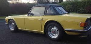1972 Triumph TR6  - UK Car