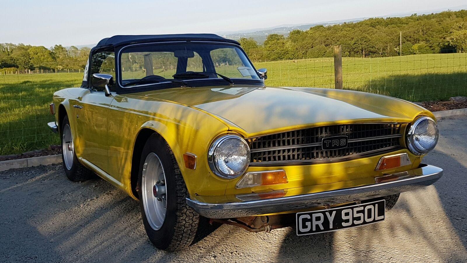 1972 Triumph TR6  - UK Car For Sale (picture 5 of 5)