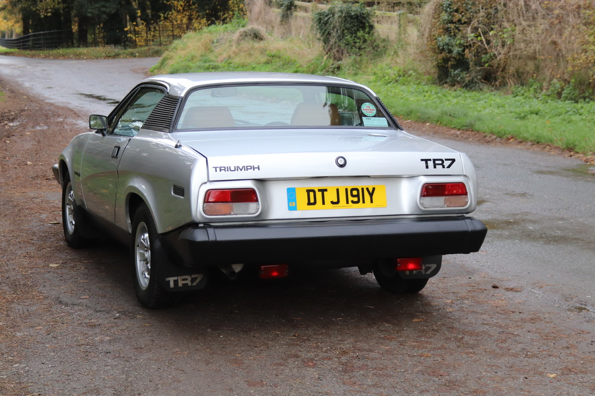 1982 Triumph TR7 - full history from new  For Sale (picture 4 of 20)