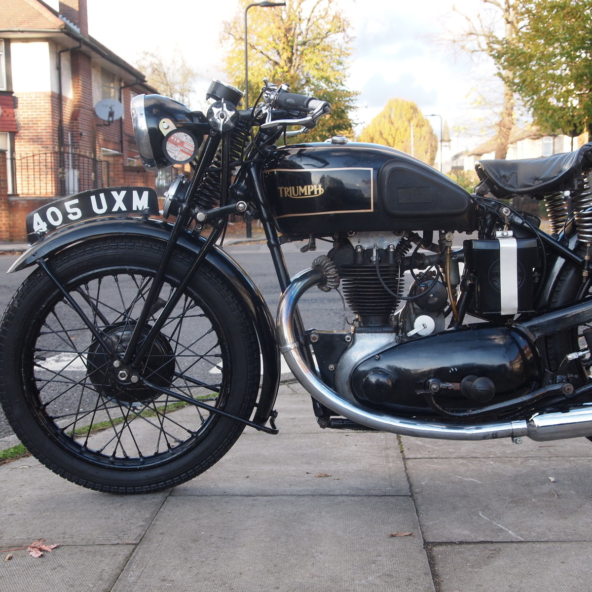 1934 Rare 4 Speed Hand Gear 2/1 249cc 2 Port O.H.V. SOLD (picture 2 of 6)