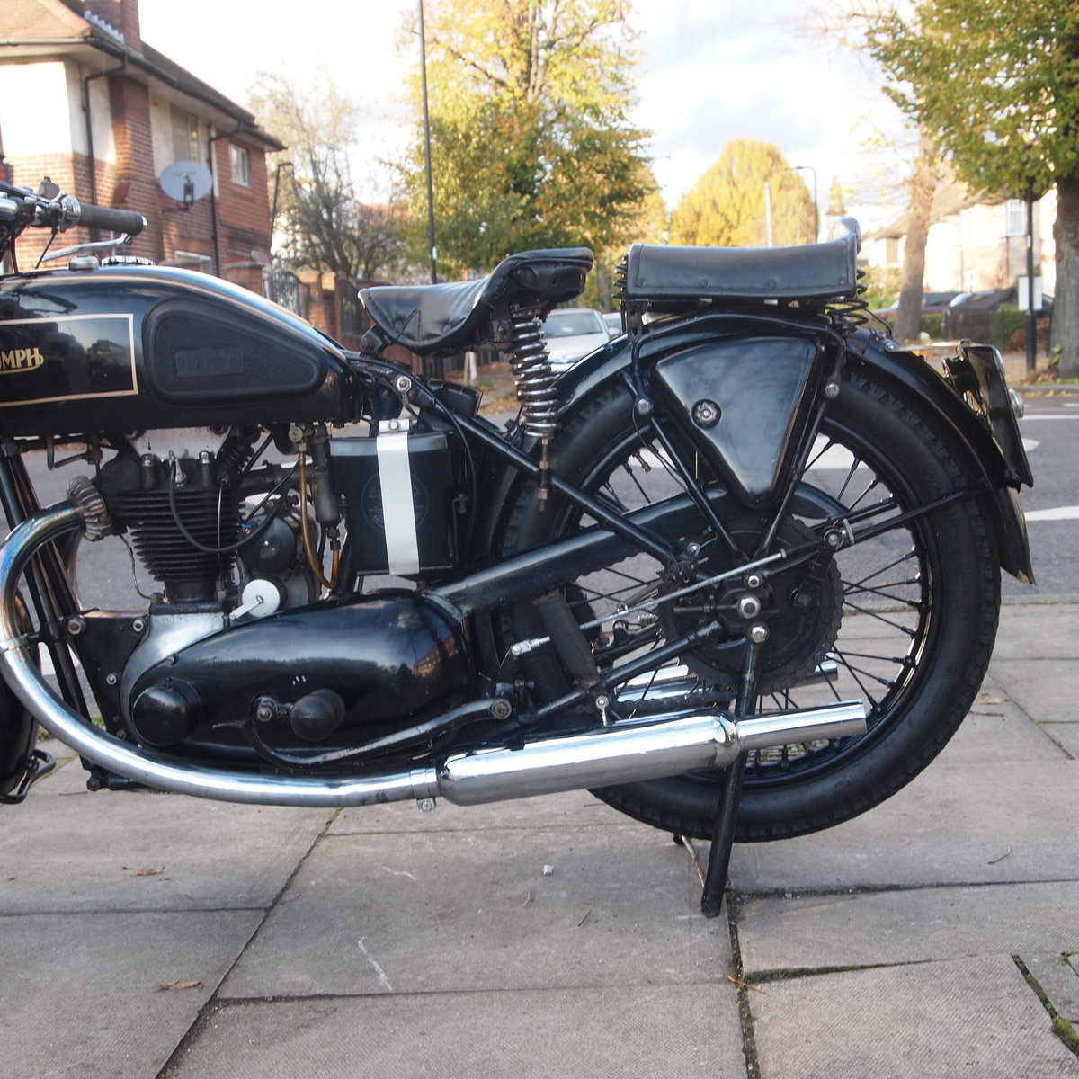 1934 Rare 4 Speed Hand Gear 2/1 249cc 2 Port O.H.V. SOLD (picture 6 of 6)