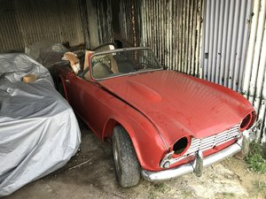 1962 TR4 projects choice of 2 - very solid! For Sale