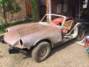 Triumph Spitfire Mark 4 (1972) Restoration Project SOLD