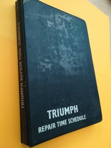 Triumph Repair Time Schedule  For Sale