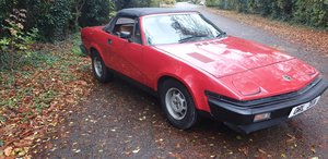 1982 Triumph TR7 Convertible, fresh mot, fully serviced For Sale