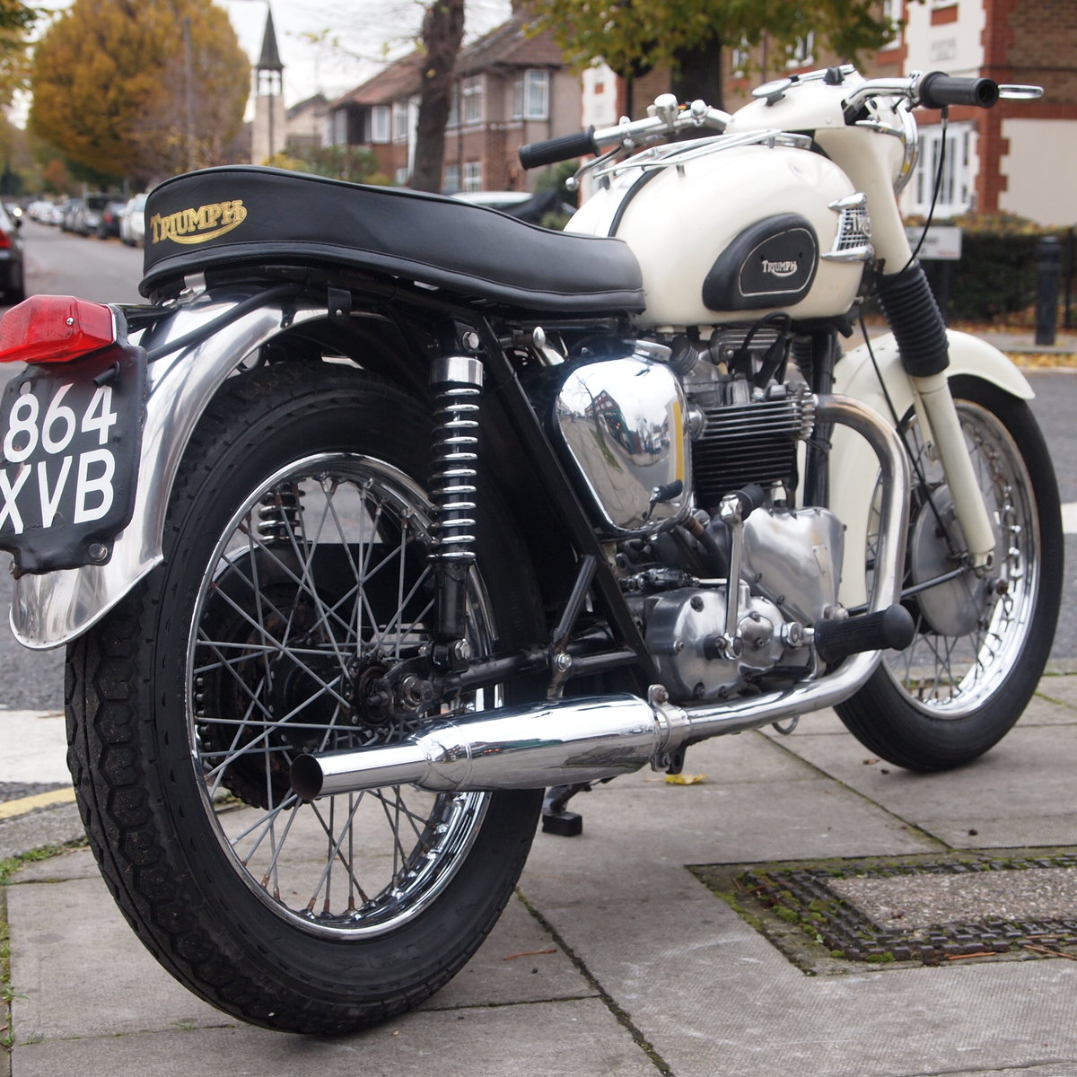1962 T110 Tiger 650cc RESERVED FOR BRIAN. SOLD (picture 1 of 6)