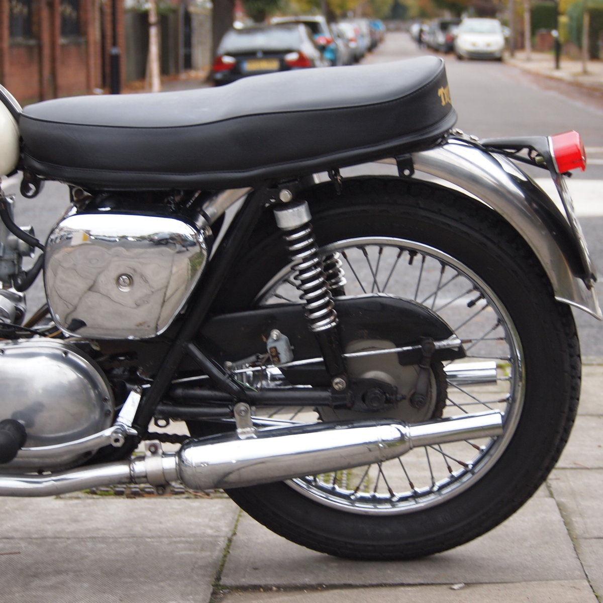1962 T110 Tiger 650cc RESERVED FOR BRIAN. SOLD (picture 3 of 6)
