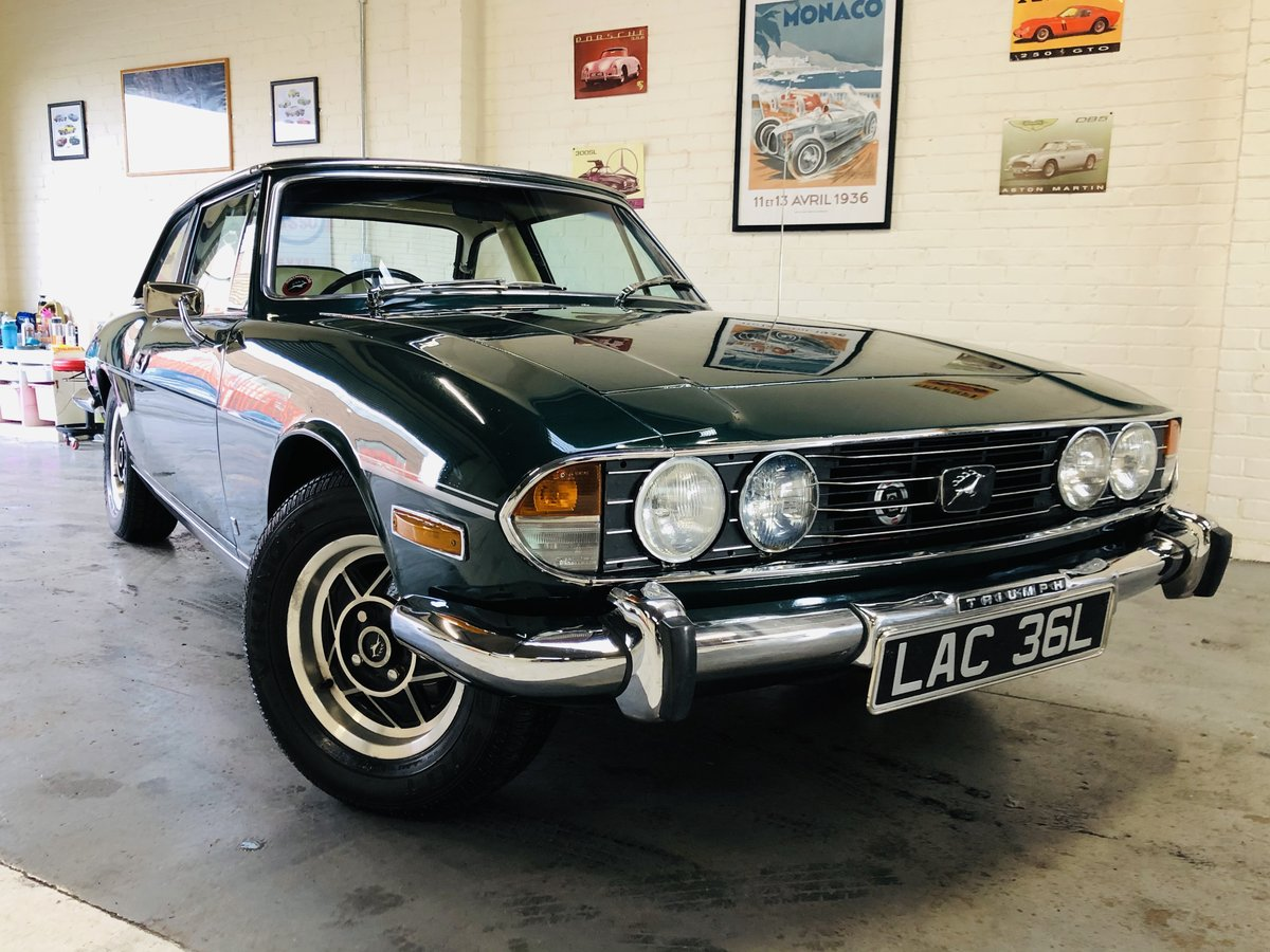 1971 TRIUMPH STAG - WONDERFUL VALUE EXAMPLE SOLD (picture 1 of 6)