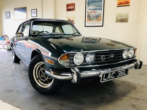 1971 TRIUMPH STAG - WONDERFUL VALUE EXAMPLE SOLD