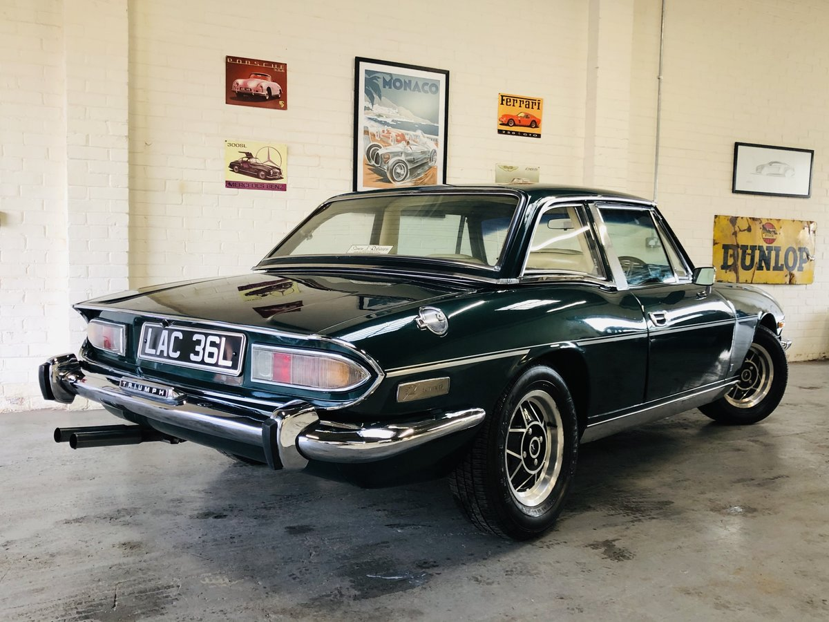 1971 TRIUMPH STAG - WONDERFUL VALUE EXAMPLE SOLD (picture 2 of 6)