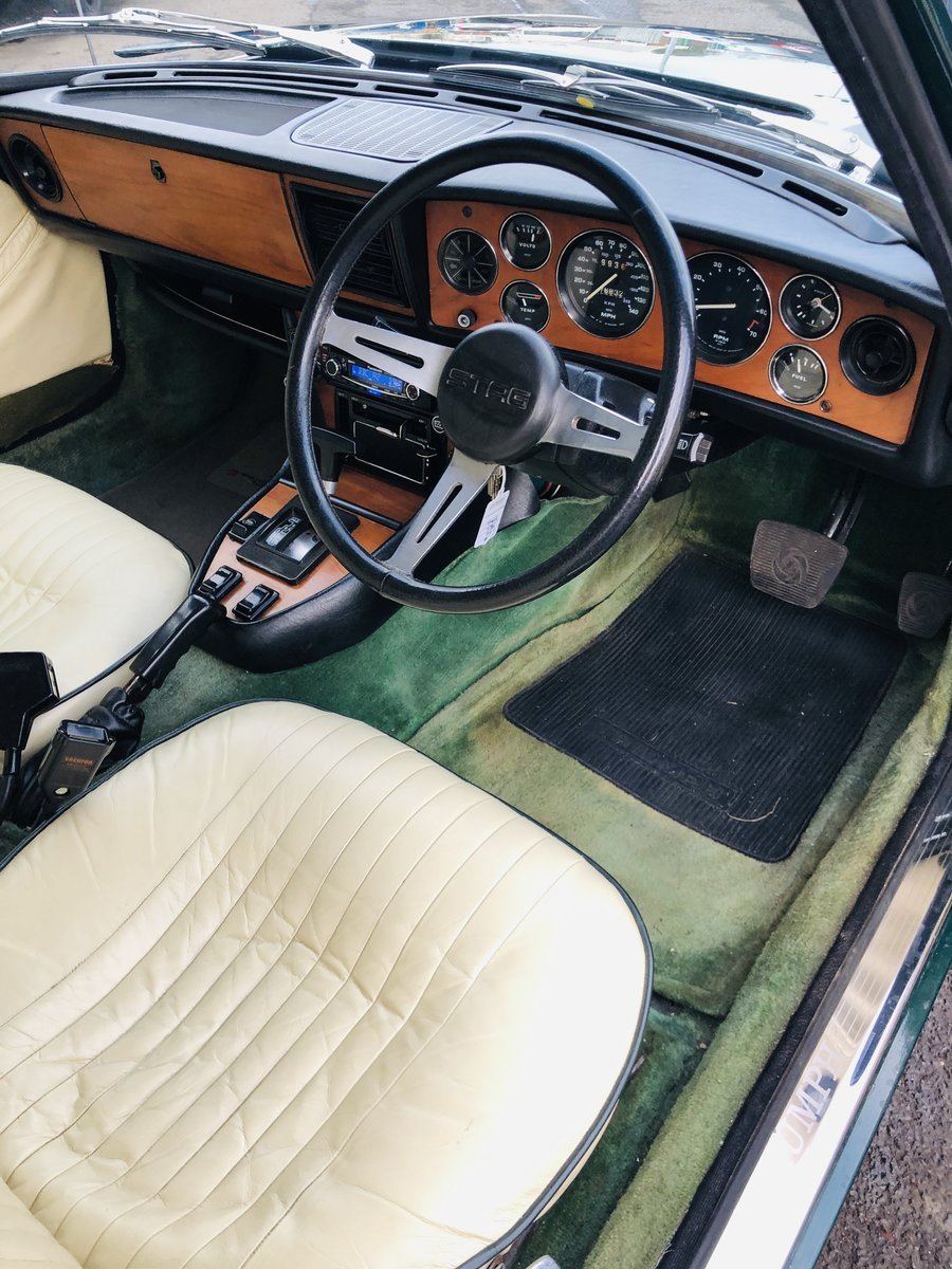 1971 TRIUMPH STAG - WONDERFUL VALUE EXAMPLE SOLD (picture 5 of 6)