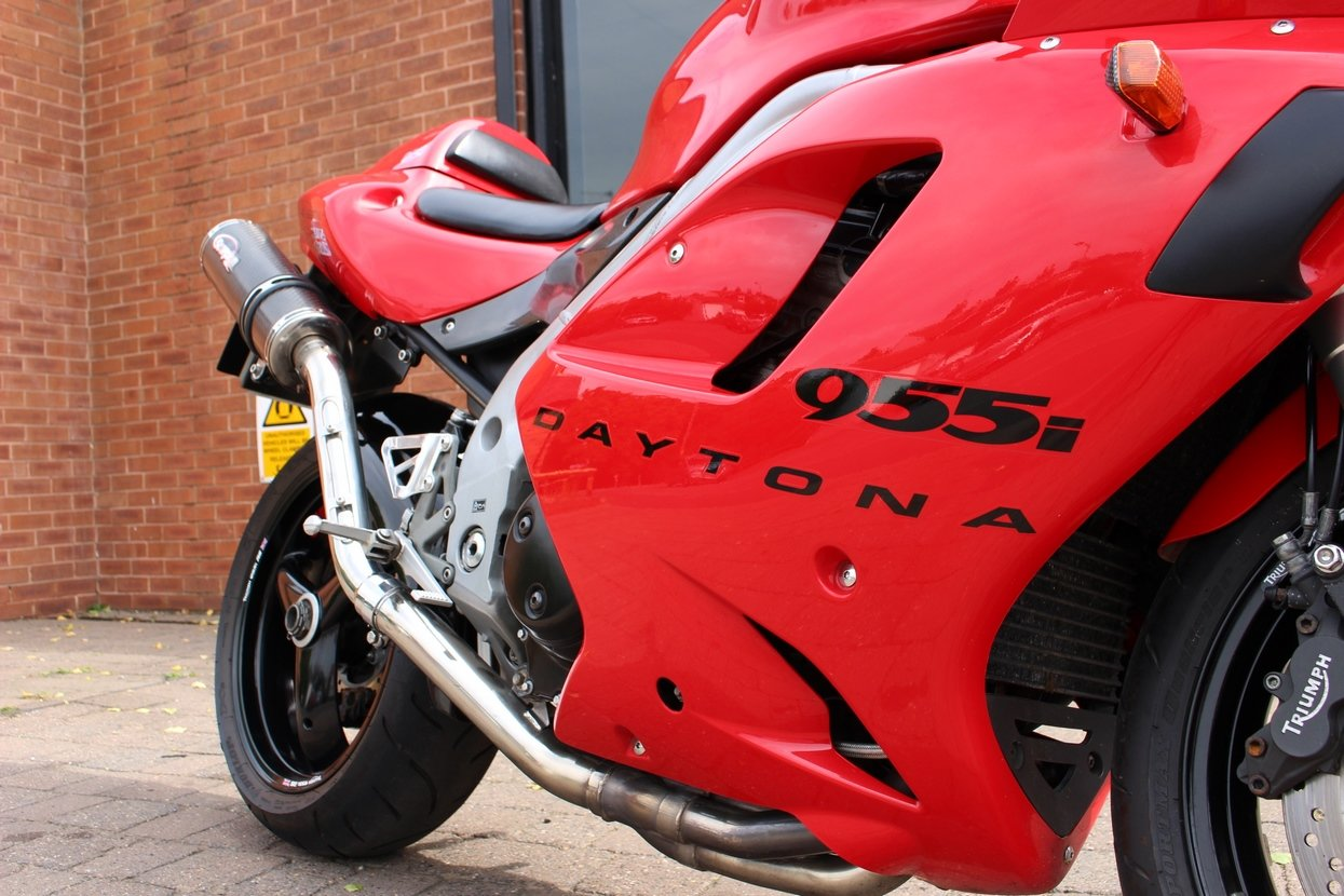 2002 Triumph 955i Daytona | Immaculate Condition  For Sale (picture 9 of 10)