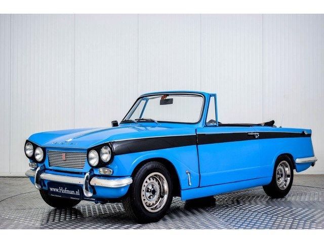 1965 Triumph Vitesse Convertible For Sale (picture 1 of 6)