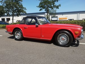 1975 Beautifully restored TR6 For Sale