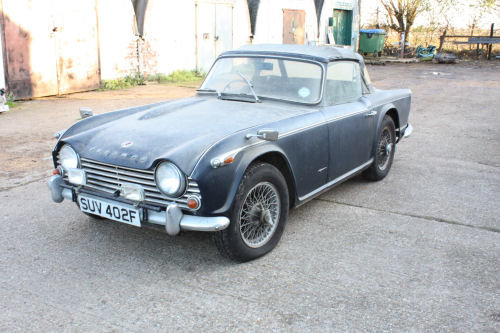 1697 BARN FIND! TR4A 1967 ORIGINAL UK CAR.  SOLD (picture 5 of 6)