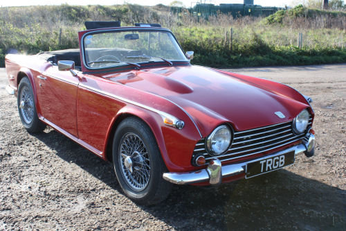 1968 TR5 ORIGINAL UK CAR WITH OVERDRIVE SOLD (picture 1 of 6)