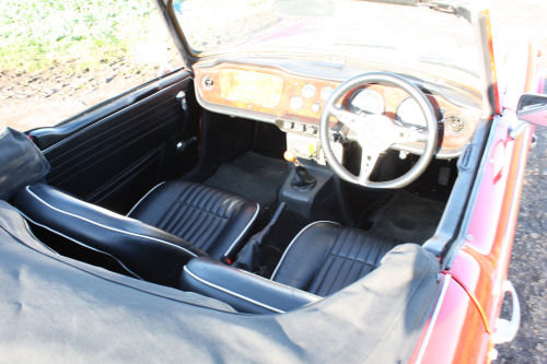 1968 TR5 ORIGINAL UK CAR WITH OVERDRIVE SOLD (picture 2 of 6)