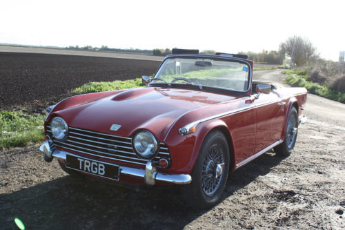1968 TR5 ORIGINAL UK CAR WITH OVERDRIVE SOLD (picture 5 of 6)