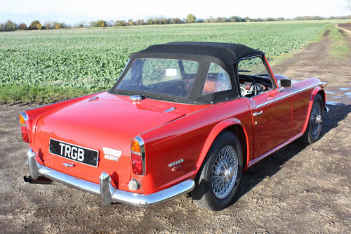 1968 TR5 ORIGINAL UK CAR WITH OVERDRIVE SOLD (picture 6 of 6)