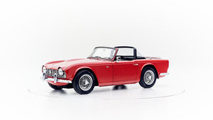 1963 TRIUMPH TR4 For Sale by Auction