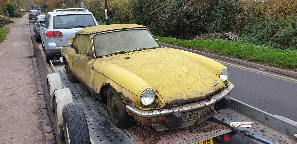 1973 Triumph Spitfire Mk.IV for restoration For Sale (picture 1 of 6)