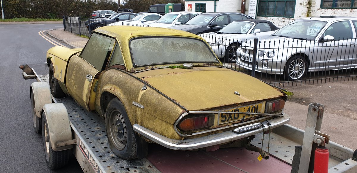 1973 Triumph Spitfire Mk.IV for restoration For Sale (picture 4 of 6)