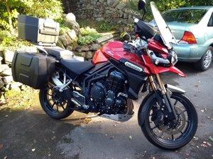 2014 Triumph Tiger Adventure 1215cc Low mileage