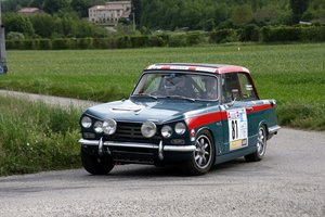 Vitesse Rally car- MSA Historic Rally Car Passport