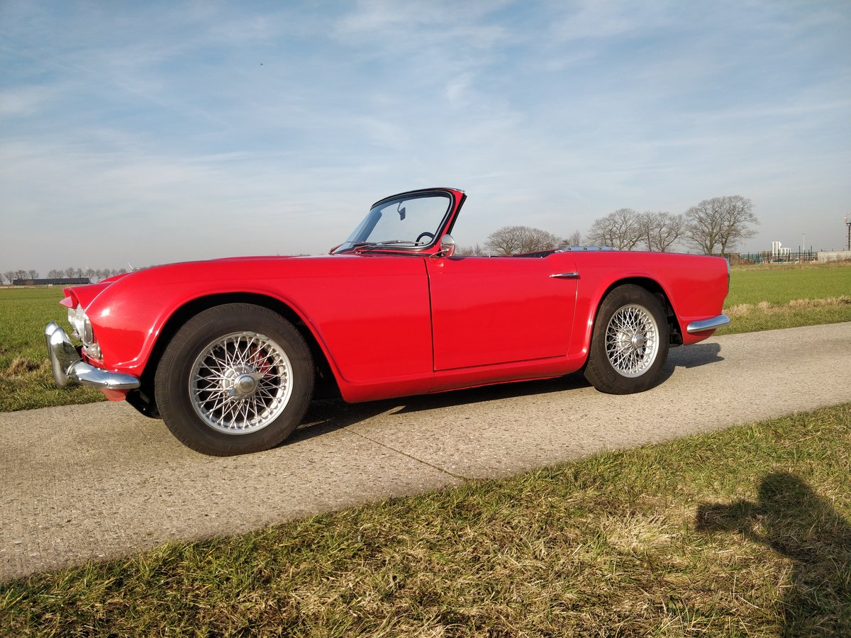 1963 Triumph TR4 '63  lhd For Sale (picture 1 of 6)