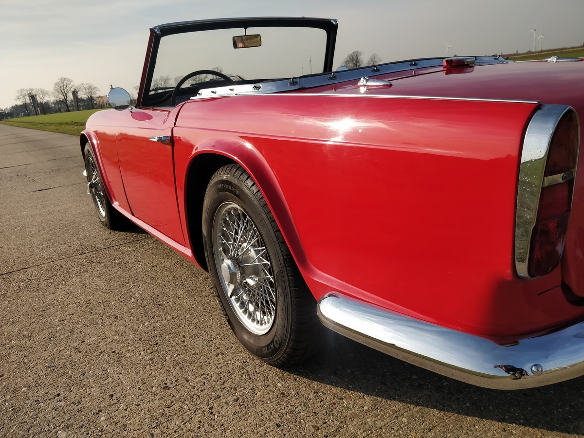 1963 Triumph TR4 '63  lhd For Sale (picture 2 of 6)