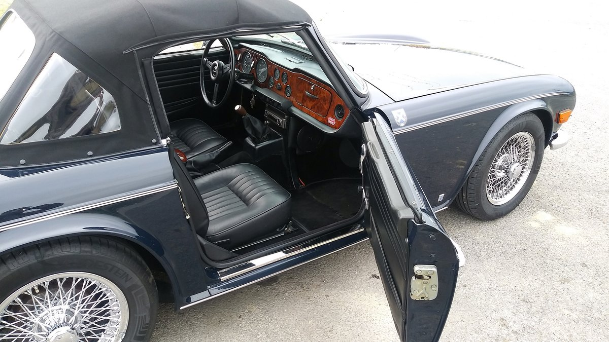 1970 TRIUMPH TR6 Overdrive For Sale (picture 4 of 6)