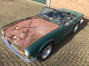 1974 Triumph TR6 for restoration For Sale