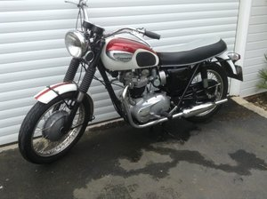 1966 Triumph Bonneville Bike