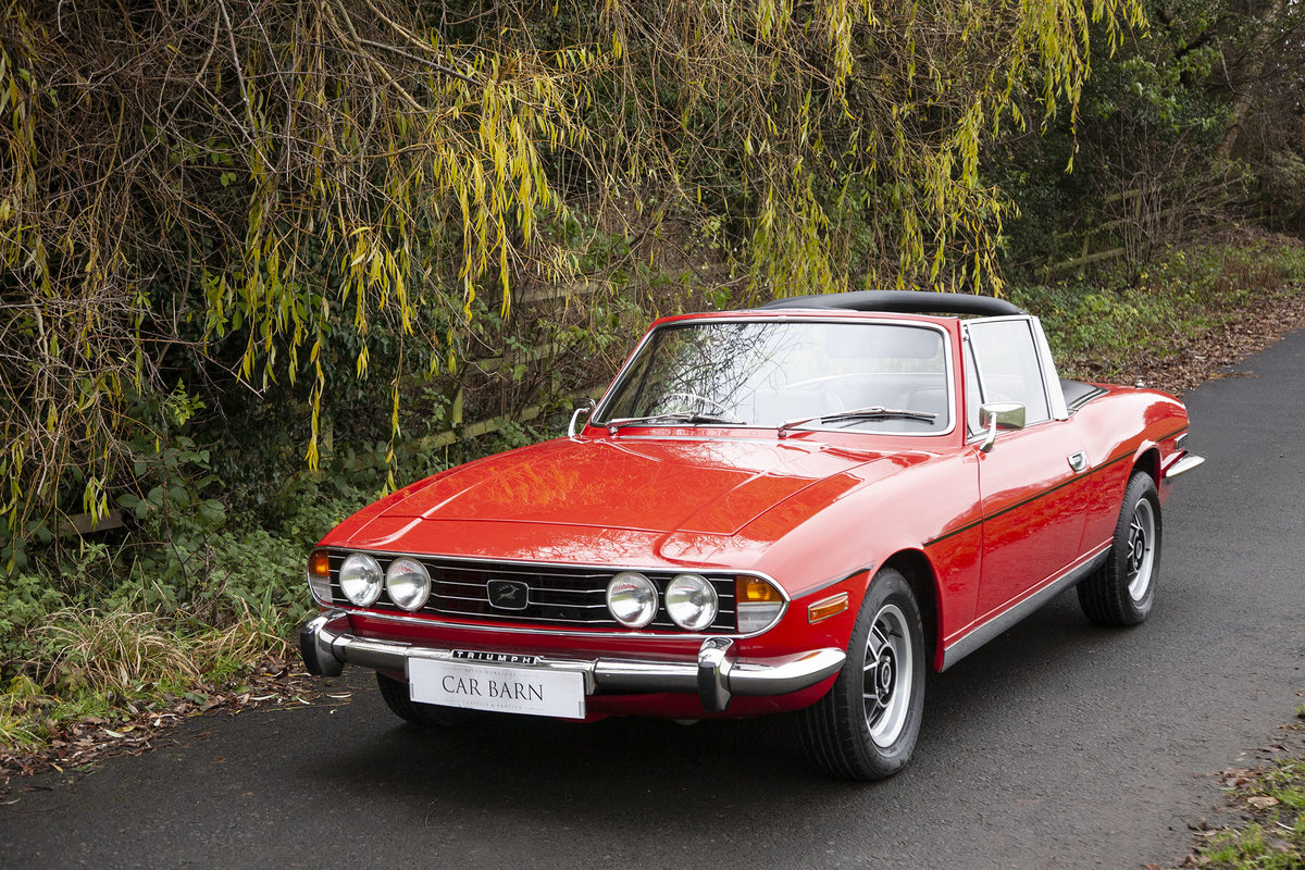 1972 Triumph Stag SOLD (picture 1 of 6)