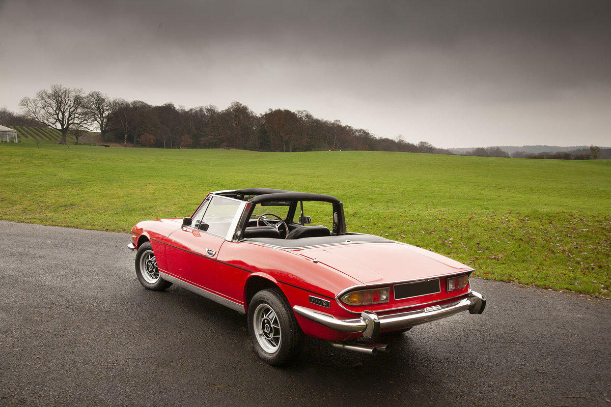 1972 Triumph Stag SOLD (picture 4 of 6)