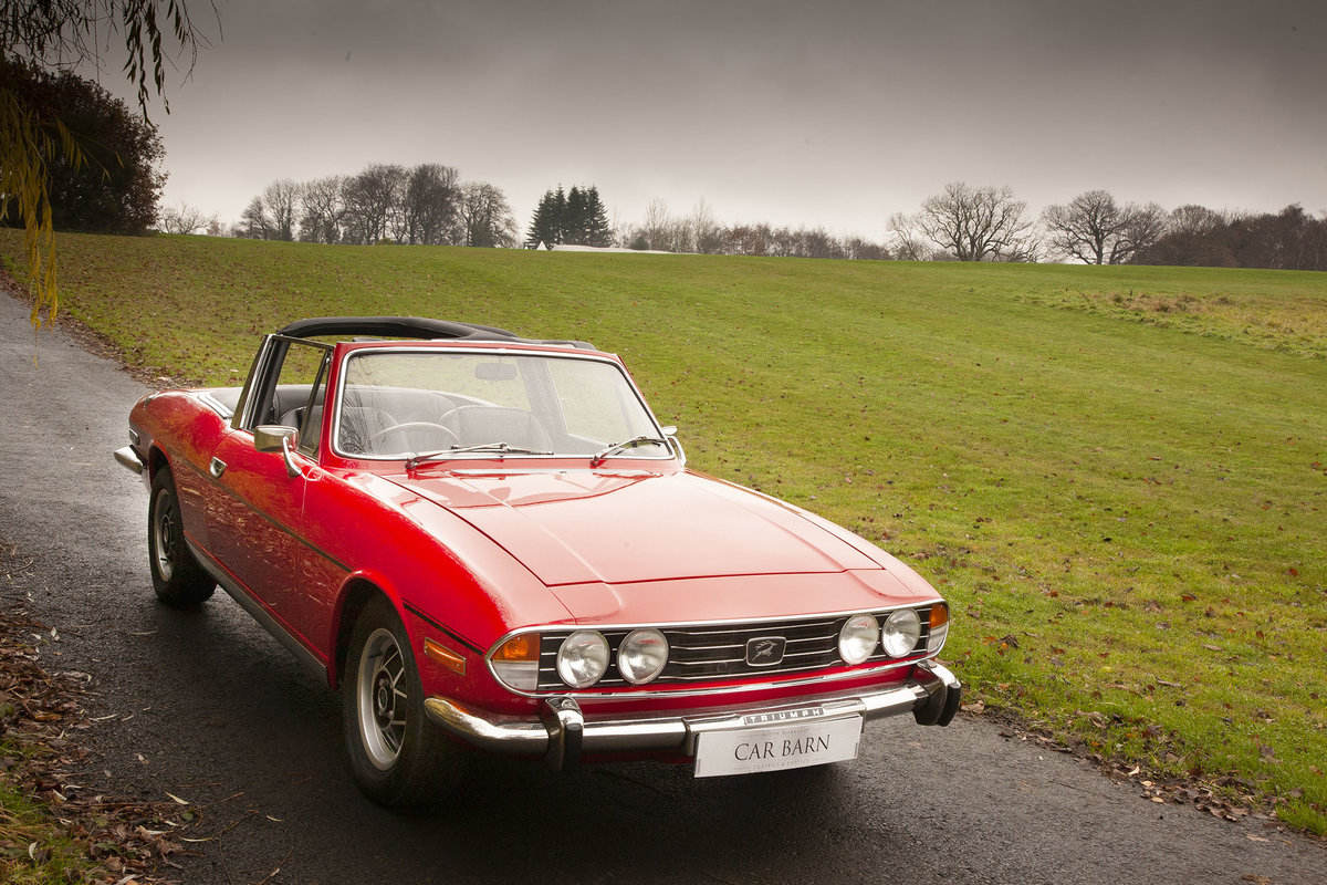 1972 Triumph Stag SOLD (picture 5 of 6)