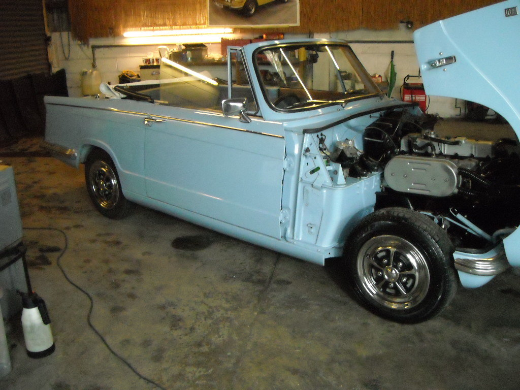 1970 TRIUMPH VITESSE MK2 2 LITRE CONVERTIBLE STUNNING CAR For Sale (picture 1 of 6)