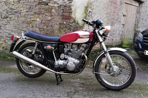 Triumph Trident T-160,  fully restored