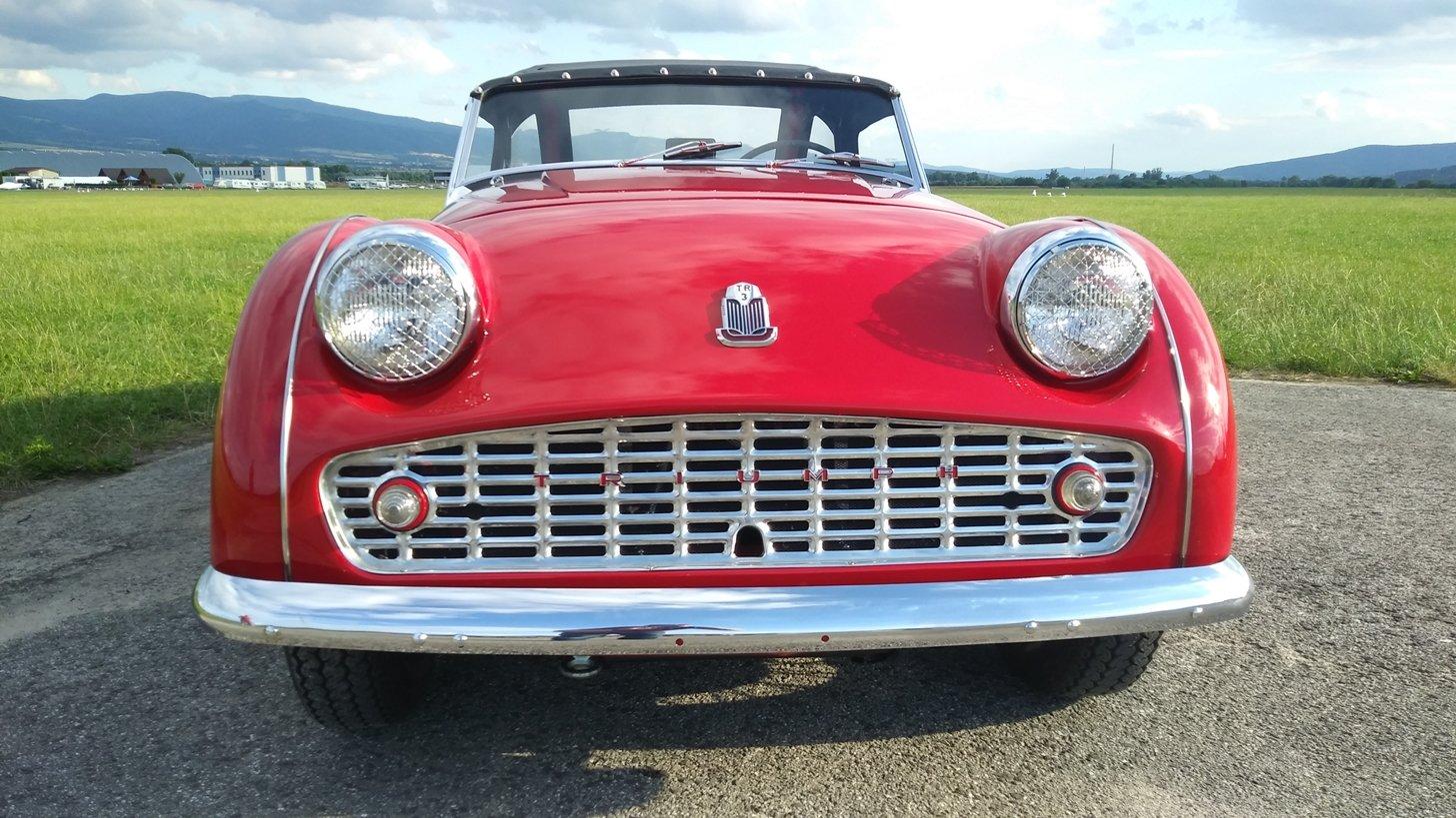 TRIUMPH TR3 (1956) roadster For Sale (picture 1 of 6)